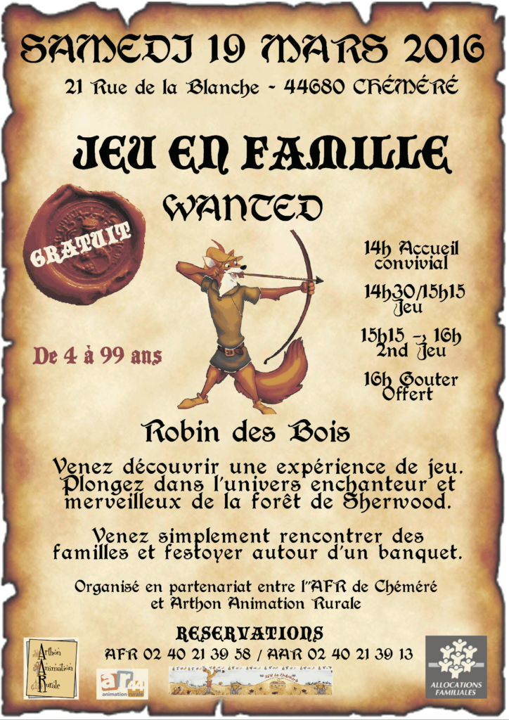 Affiche Robin