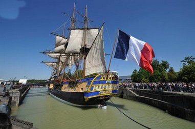Club des rencontres amicales de Chéméré – Journée à Rochefort