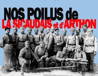 Nos poilus de La Sicaudais et d'Arthon