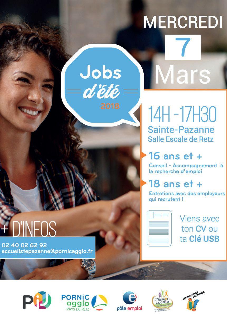 Jobs d'été 2018